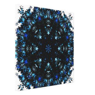 Dark Matter Mandala Canvas Print