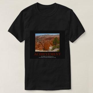 Dark Men's Tshirt -Amazing Red Rock photo + saying