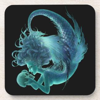 Dark Mermaid Coaster - Secret Kisses