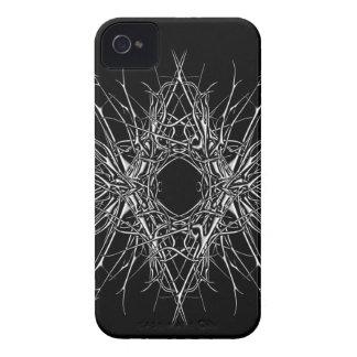 dark metal iPhone 4 cover