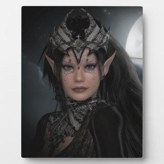 Dark Moon Princess Plaque