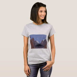 Dark Mountain City T-Shirt