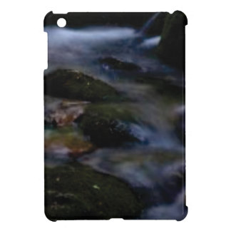 dark movement of water iPad mini case