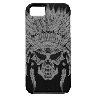Dark Native Skull iPhone 5 Case