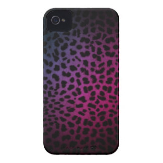 Dark Night Club Inspired Leopard Print iPhone Case