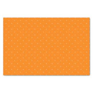 Dark Orange & Light Orange Polka Dots Tissue Paper