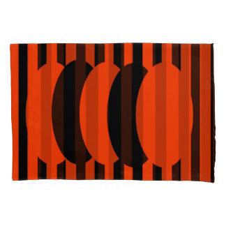 Dark Orange Reversible Pillowcase