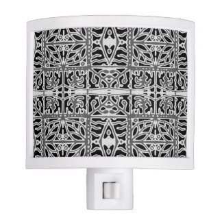 Dark Oriental Ornate Pattern Nite Lite