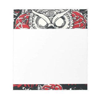 Dark Owl Notepad