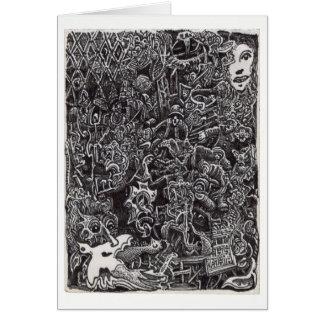 Dark Passage by Brian Benson Card