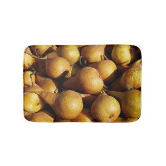 Dark Pears Fresh Fruit Photo Bathroom Mat