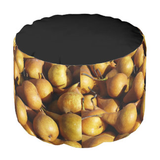 Dark Pears Fresh Fruit Photo Pouf