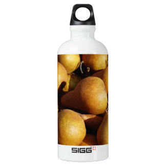 Dark Pears Fresh Fruit Photo Water Bottle