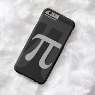 Dark Pi Barely There iPhone 6 Case