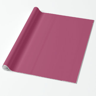 Dark Pink Colour 1 Wrapping Paper