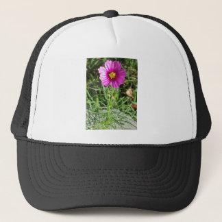 Dark pink Cosmos daisy flower Trucker Hat