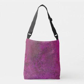 Dark Pink Crossbody Bag
