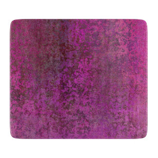 Dark Pink Cutting Board
