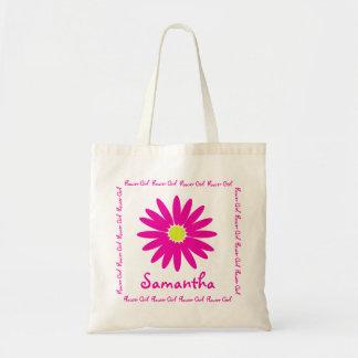 Dark Pink Daisy Flower Girl