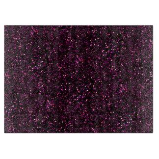 Dark Pink Posh Glitter Boards