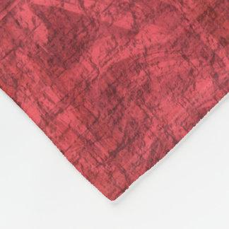 Dark Pink Textured Fleece Blanket