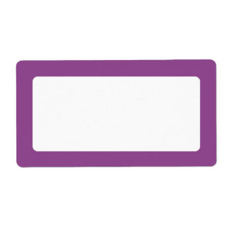 Dark plum purple border blank
