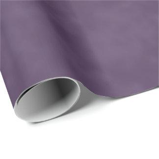 Dark Plum Purple Wrapping Paper