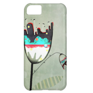 Dark Poppy iPhone 5C Case