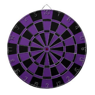Dark Purple And Black Dart Boards