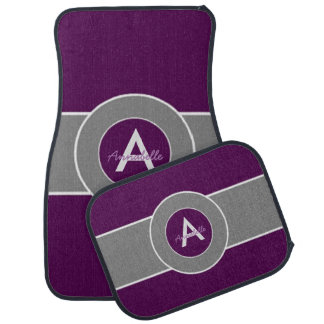 Dark Purple Gray Auto Mat