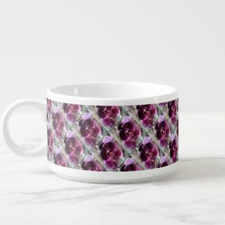 Dark Purple Moth Orchids Bowl