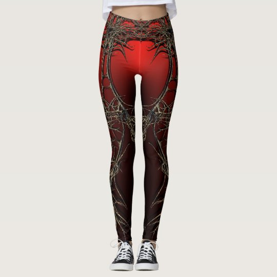 dark queen leggings