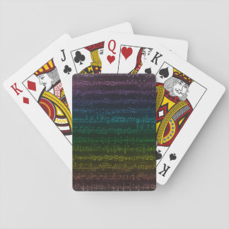 Dark Rainbow Playing Cards