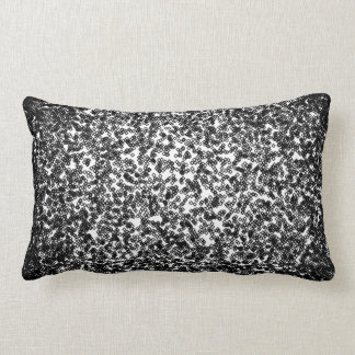 Dark Random Pattern Lumbar Pillow