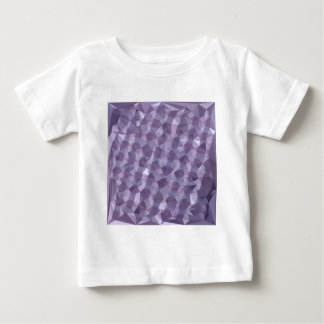 Dark Raspberry Abstract Low Polygon Background Baby T-Shirt
