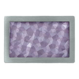 Dark Raspberry Abstract Low Polygon Background Belt Buckles