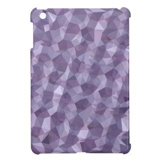 Dark Raspberry Abstract Low Polygon Background iPad Mini Cover
