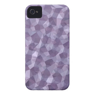 Dark Raspberry Abstract Low Polygon Background iPhone 4 Cover