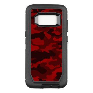 Dark Red Camouflage OtterBox Defender Samsung Galaxy S8 Case
