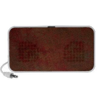 Dark Red Grungy Mini Speaker