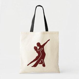 Dark Red Logo Bag