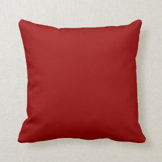 dark red pillow