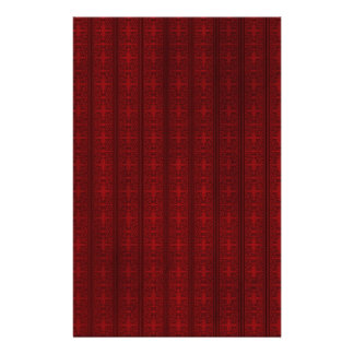 Dark red wallpaper customized stationery