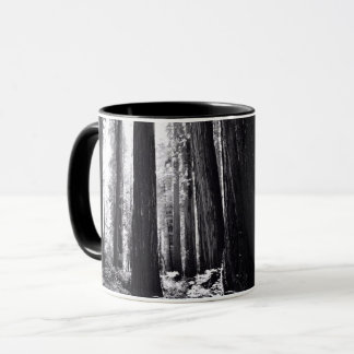 Dark Redwood Forest Mug