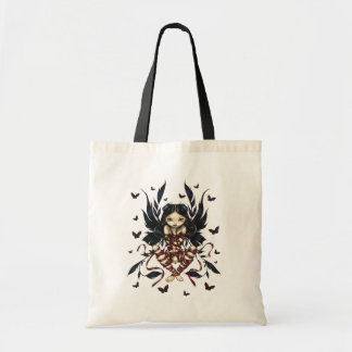 Dark Ribbon Fairy Bag