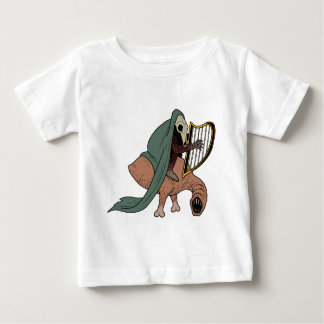 Dark Rider Playing Harp Baby T-Shirt
