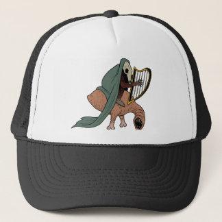 Dark Rider Playing Harp Trucker Hat
