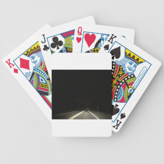 Dark roads and Night time adventures Bicycle Playing Cards