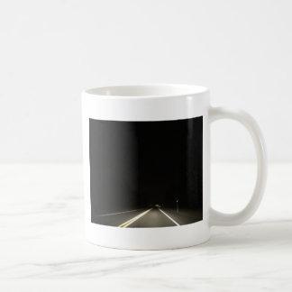 Dark roads and Night time adventures Coffee Mug