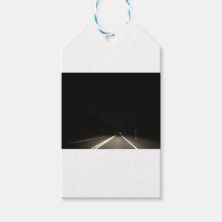 Dark roads and Night time adventures Gift Tags